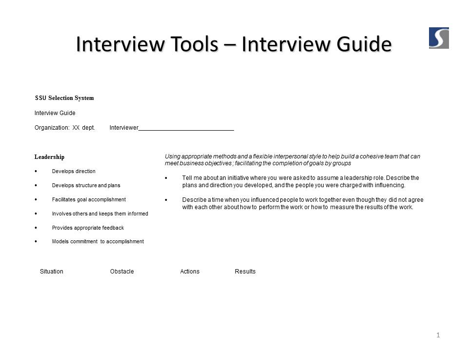 Info You Can Use: Generating Interview Questions | Butts In the Seats